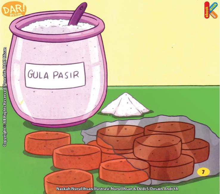 Bahan untuk Membuat Gula Pasir dan Gula Merah.
