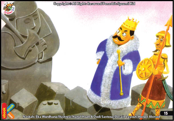 Nabi Ibrahim Tahan Api Ketika Dibakar Raja Namrud