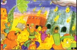 Nabi Luth Dengan Hujan Api Serta Gempa Bumi