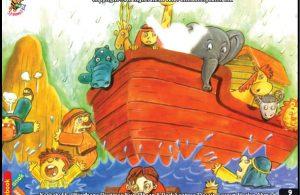 Nabi Nuh dan Banjir Besar Selama 40 Hari 40 Malam