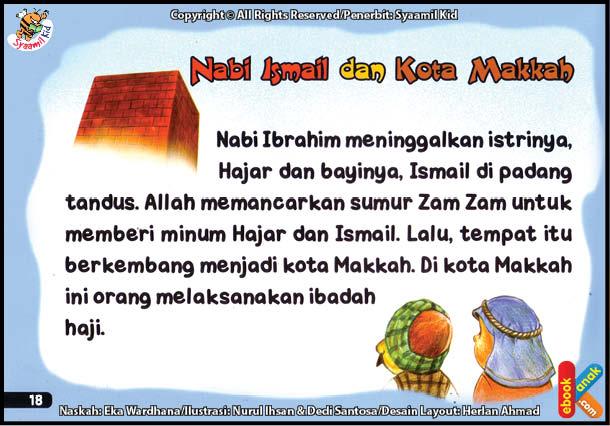 Nabi Ismail dan Nabi Ibrahim Membangun Kabah di Makkah