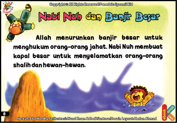 baca online ebook kisah 25 nabi dan rasul jilid 110 - Ebook Anak