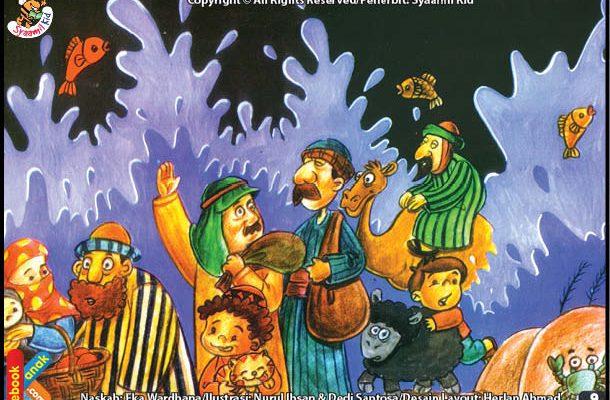 Nabi Musa Membelah Laut Merah Dengan Tongkatnya