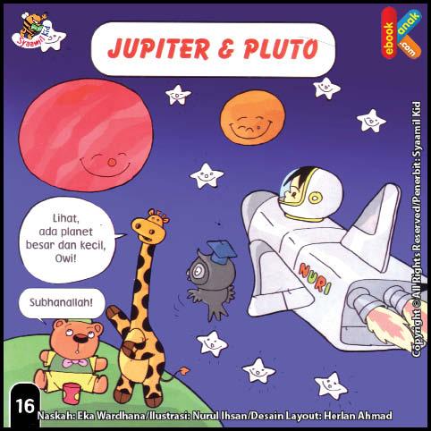 Jupiter dan Pluto Si Planet Besar dan Kecil