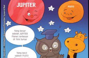 Apa Planet Terbesar dan Terkecil Di Tata Surya?