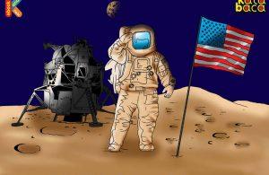 Neil Alden Armstrong Manusia Pertama yang Berjalan di Bulan