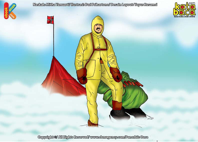 Roald Amundsen Penjelajah Pertama ke Kutub Selatan