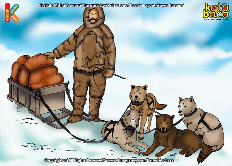 Robert Peary Penjelajah Pertama ke Kutub Utara Bersama Orang Eskimo