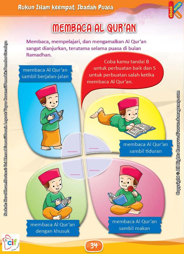 Membaca Al Quran Sangat Dianjurkan Di Bulan Ramadhan