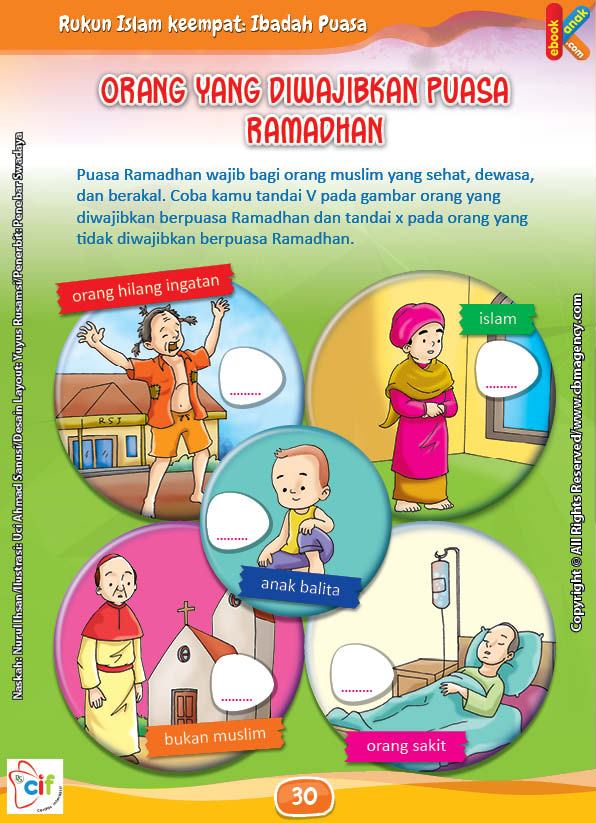 Orang Yang Diwajibkan Puasa Ramadhan