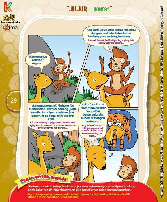 """Pertolongan Si Monyet """"The Helps Of The Monkey"""" (4)"""