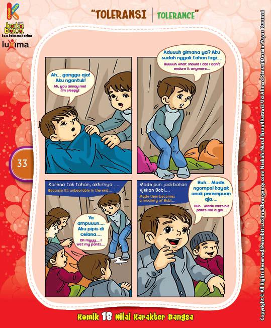 """Masih Suka Ngompol """"Still Often Wet in Bed"""" (3)"""