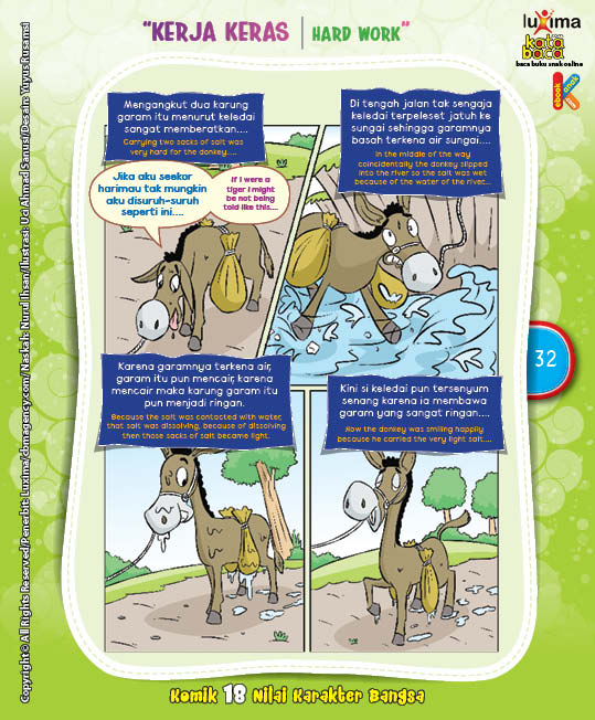 "Keledai Si Pemalas ""The Lazy Donkey"" (2)"