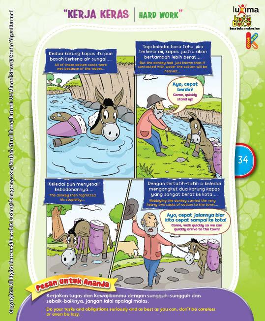 "Keledai Si Pemalas ""The Lazy Donkey"" (4)"