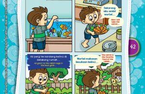 "Aku Bisa Memberi Makan Hewan ""I Can Feed the Pets By Myself""(2)"