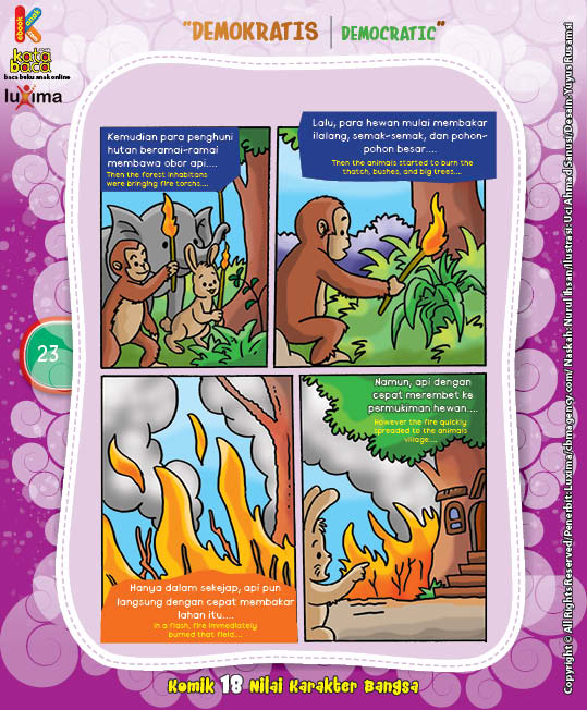 "Kebakaran Hutan ""The Forest Fires"" (3)"
