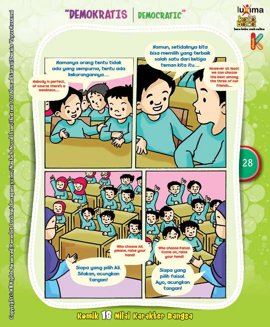 """Pemilihan Ketua Kelas """"The Class Captain Election"""" (3)"""