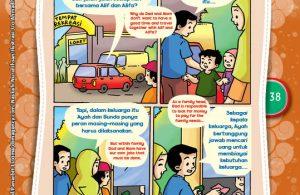 """Dapat Berbagi Peran dalam Keluarga """"Being Able to Share the Roles in Family"""" (3)"""