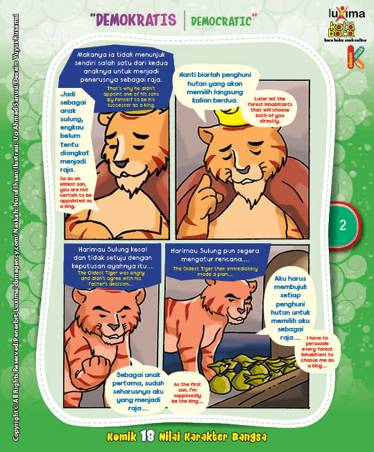 """Harimau Sulung dan Harimau Bungsu """"The Oldest and The Youngest Tiger"""" (2)"""