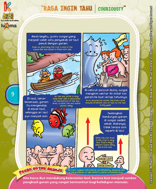 "Mengapa Air Laut Asin? ""Why Is The Sea Water Salty?"" (4)"