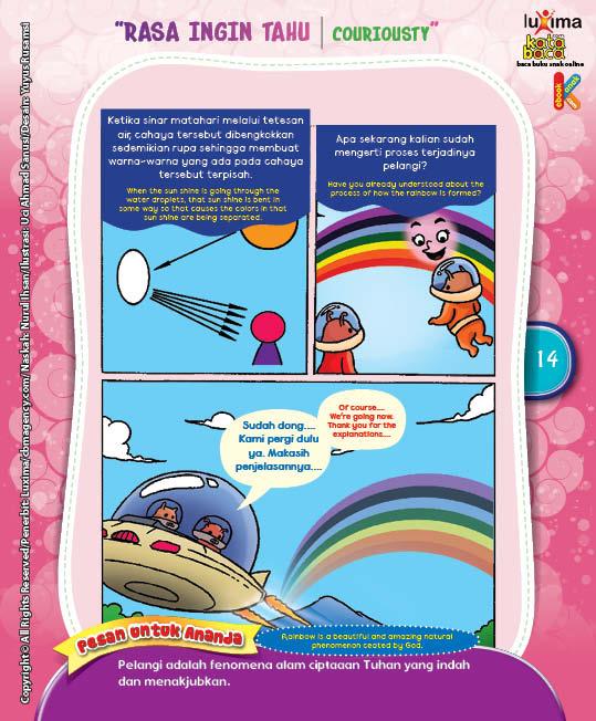 "Bagaimana Pelangi Terbentuk ""How the Rainbow is Formed?"" (4)"