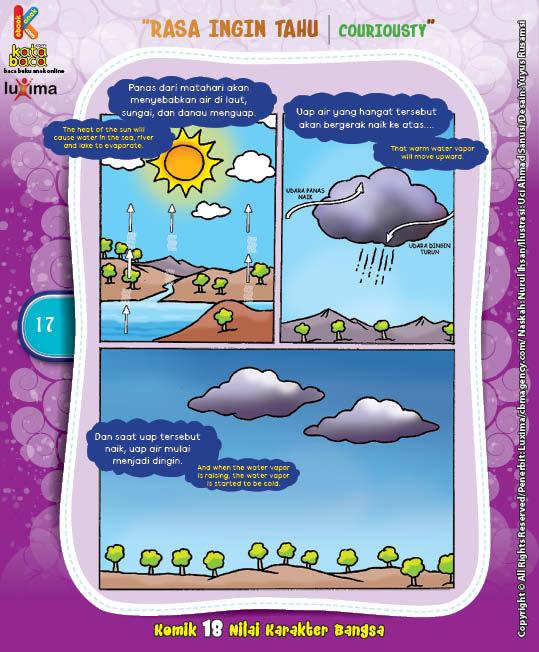 """Bagaimana Terjadinya Awan? """"How The Cloud Is Formed?"""" (2)"""