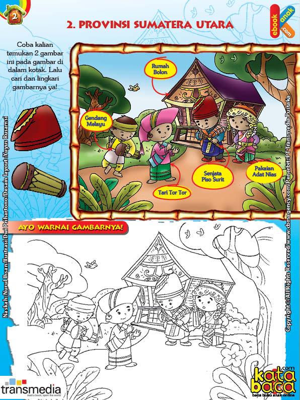 Mengenal Seni dan Budaya Provinsi Sumatera Utara
