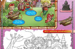 Mengenal dan Mewarnai Seni dan Budaya Provinsi Bali