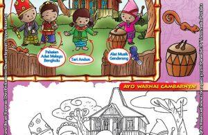 Mengenal dan Mewarnai Seni dan Budaya Provinsi Bengkulu