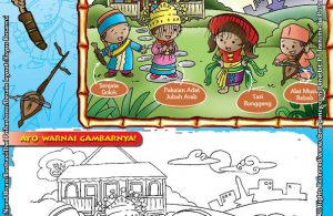 Mengenal dan Mewarnai Seni dan Budaya Provinsi DKI Jakarta