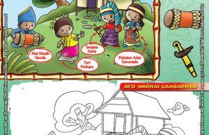Mengenal dan Mewarnai Seni dan Budaya Provinsi Gorontalo