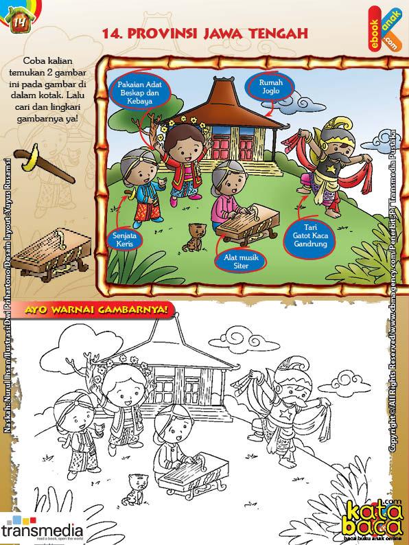 Mengenal dan Mewarnai Seni dan Budaya Provinsi Jawa Tengah