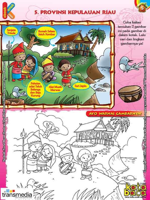 Mengenal dan Mewarnai Seni dan Budaya Provinsi Kepulauan Riau