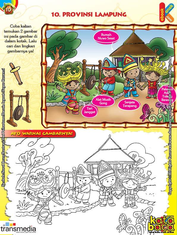 Mengenal dan Mewarnai Seni dan Budaya Provinsi Lampung