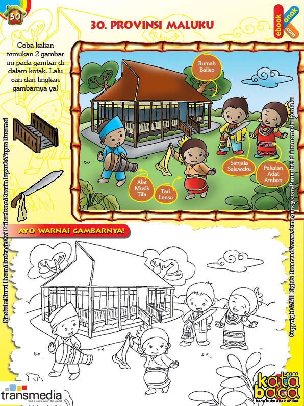Mengenal dan Mewarnai Seni dan Budaya Provinsi Maluku
