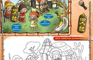 Mengenal dan Mewarnai Seni dan Budaya Provinsi Papua