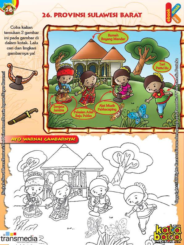 Mengenal dan Mewarnai Seni dan Budaya Provinsi Sulawesi Barat