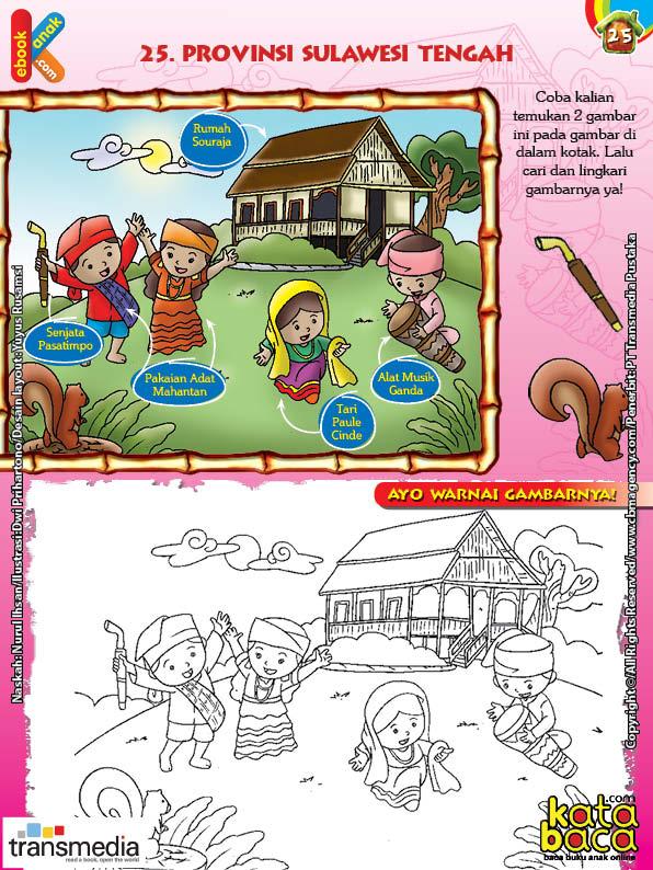 Mengenal Dan Mewarnai Seni Dan Budaya Provinsi Sulawesi Tengah