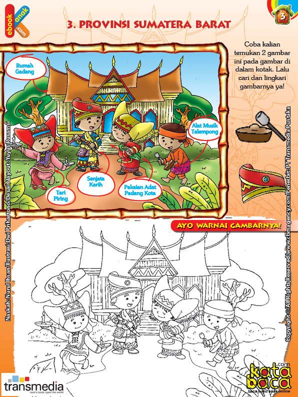 Mengenal dan Mewarnai Seni dan Budaya Provinsi Sumatera Barat