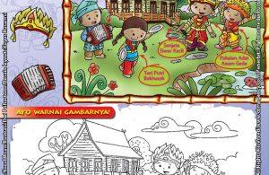 Mengenal dan Mewarnai Seni dan Budaya Provinsi Sumatera Selatan