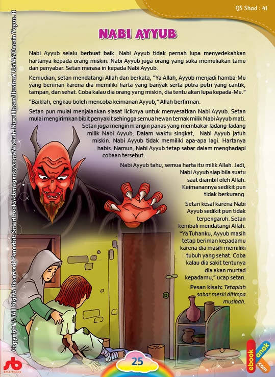 Apa Alasan Setan Iri Kepada Nabi Ayyub?
