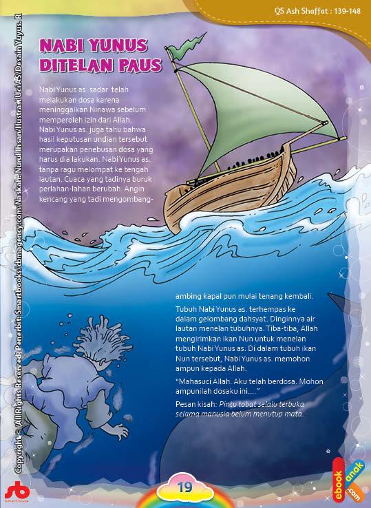 Berapa Lama Nabi Yunus Berada Di Dalam Perut Ikan?