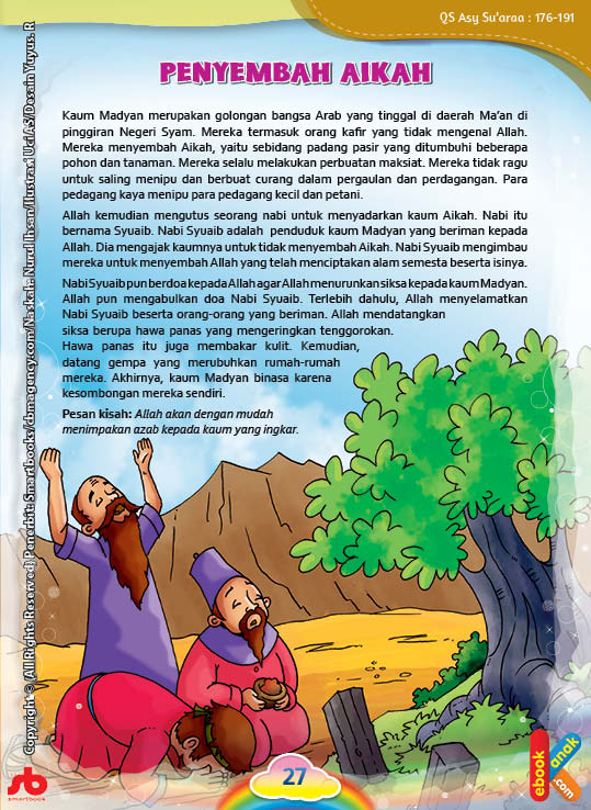 Nabi Syuaib dan Kaum Madyan Penyembah Padang Pasir Aikah