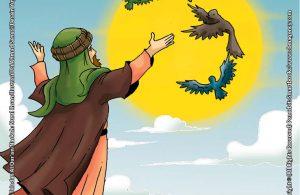 Dengan Seizin Allah Nabi Ibrahim Menghidupkan 4 Ekor Burung Mati