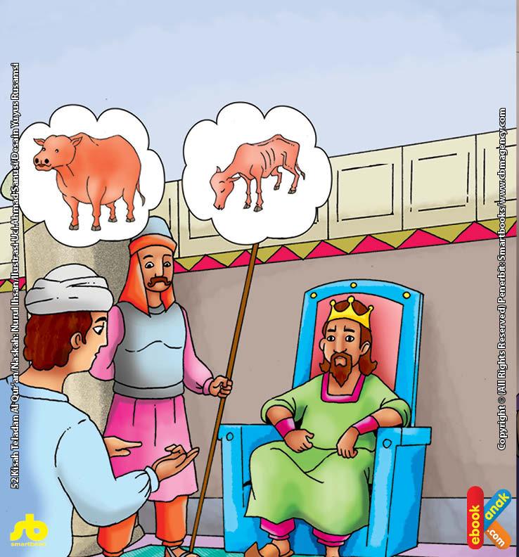 Mimpi Raja Mesir Melihat 7 Ekor Sapi Gemuk dan 7 Ekor Sapi Kurus