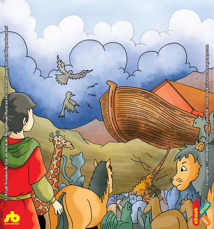 Siapa Saja Yang Boleh Masuk Ke Dalam Perahu Nabi Nuh?