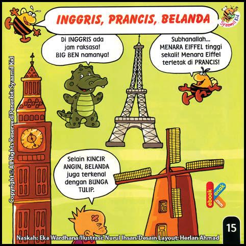 Inggris, Prancis, Belanda