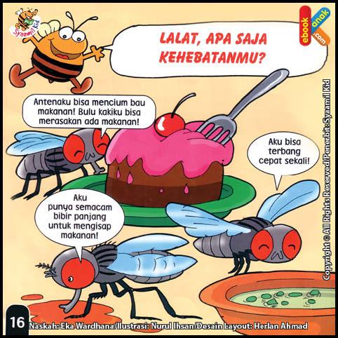 Lalat, Apa Saja Kehebatanmu?