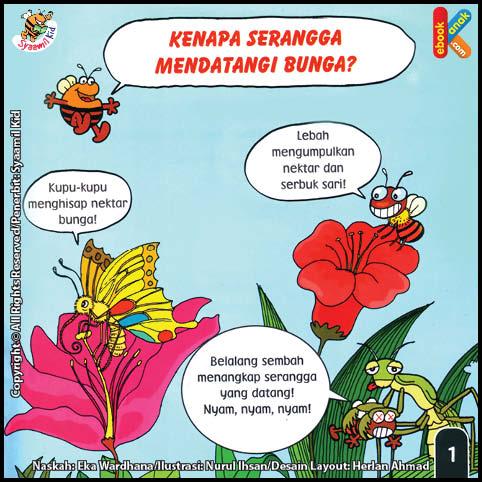 Kenapa Serangga Mendatangi Bunga?