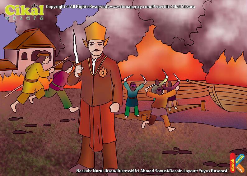 Belanda berhasil memengaruhi Sultan Haji, putra Sultan Ageng untuk memusuhi ayahnya.